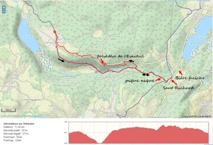 Carte Cascades Herisson